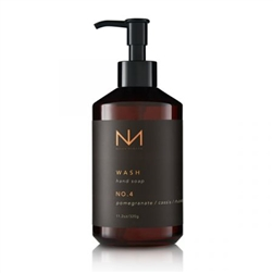 Niven Morgan ~ No. 4 Hand Soap ~ Pomegranate/Cassis/Rhubarb