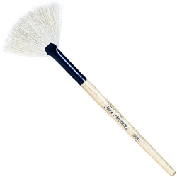 Makeup Brush - White Fan