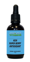 Acai Super Berry Antioxidant Liquid Extract - 1 fl. oz.