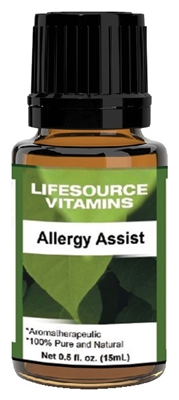 Allergy Assist Blend-  0.5 fl oz-  LifeSource Essential Oils