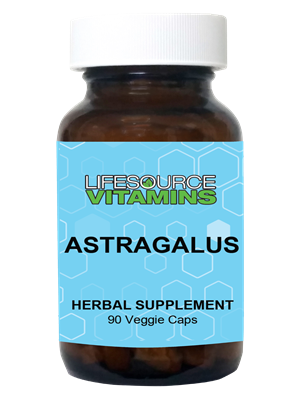 Astragalus Root Extract 500 mg  100 Caps