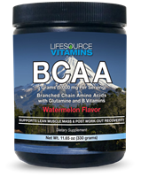 BCAA 5,000 - Branched Chain Amino Acids - Watermelon Flavor Powder