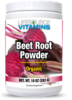 Beet Root Powder - Organic California Beets - Non-GMO - 10 oz