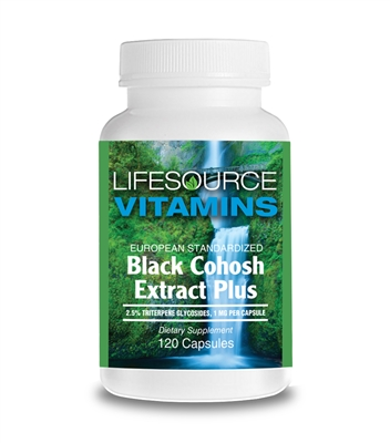 Black Cohosh Extract Plus 120 Caps