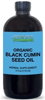 Black Cumin Seed Oil - 4 fl oz - Organic