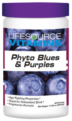 Phyto Blues & Purples Phyto Foods Powder  30 Day Supply 11.59 oz.