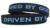 Driven by Faith & Powered By God Bracelet - New Black / Blue