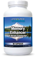 Memory Enhancer and Brain Connector - 90 Caps - Proprietary Formula