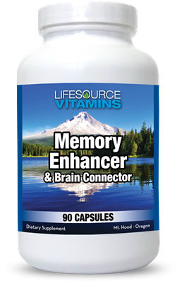 Brain Connector & Memory Enhancer - 90 Caps - Proprietary Formula