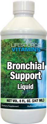 Bronchial Support Liquid - 8 oz. 45 servings - Proprietary Formula