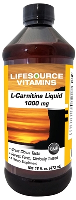 L-Carnitine Liquid Pharmaceutical Grade 16 oz. Citrus
