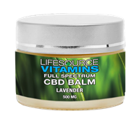 CBD Balm - 100% Non-GMO Full Spectrum Extract - Lavender - 500mg - 1 fl oz