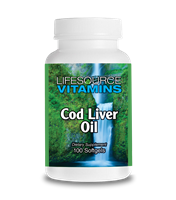 Cod Liver Oil - 415 mg - 100 Softgels