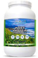 Whey Protein CONCENTRATE - Grass Fed - Double Chocolate Fudge - 6 lbs.