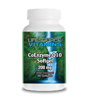 CoQ10 200 mg  - 60 Softgels - 2 Month Supply