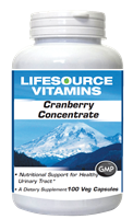 Cranberry - 8:1 Concentrate - 100 Capsules