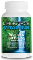 Women's 50 Billion Probiotic - 30 Vegetarian Capsules