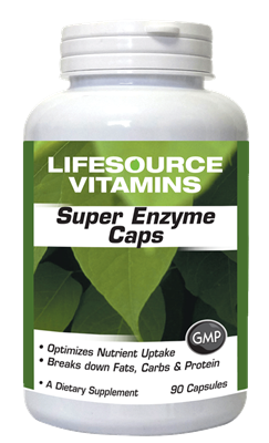 Super Enzymes - 90 Caps - Betaine HCI