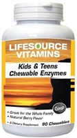 Kids & Teens Chewable Enzymes - 90 Chewables