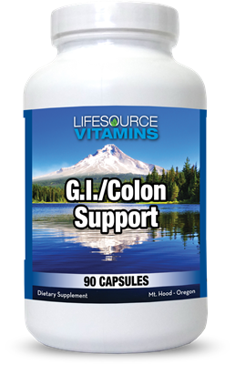 G.I. & Colon Support - 90 Capsules