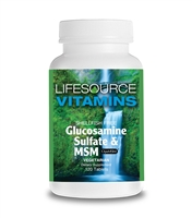 Glucosamine Sulfate & MSM (VEGETARIAN) - 120 Tablets