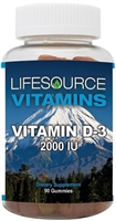 Vitamin D-3 Gummies 2,000 IU
