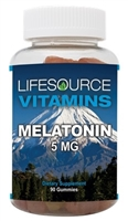 Melatonin 5mg Gummies - 90 Gummies