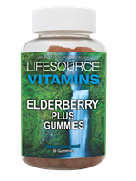 Elderberry Gummies Plus - 90 Gummies
