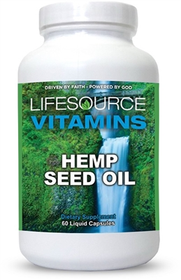 Hemp Seed Oil- 60 Liquid Capsules
