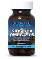 Kids & Teens DHA - Omega Chewables Natural Orange Creme 60 Softgels