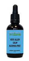 Kid's Aller-Calm (Alcohol Free) Liquid Extract - 1 fl. oz.