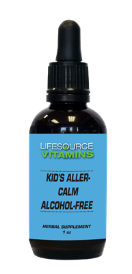 Kids & Teens Aller-Calm (Alcohol Free) Liquid Extract - 1 fl. oz.