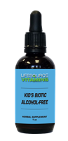 Kids & Teens Biotic (Alcohol Free) Liquid Extract - 1 fl. oz.