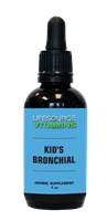 Kid's Bronchial (Alcohol Free) Liquid Extract - 1 fl. oz.