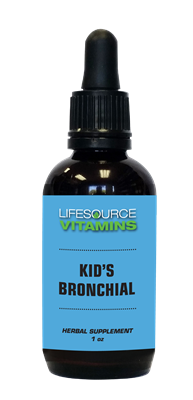 Kids & Teens Bronchial (Alcohol Free) Liquid Extract - 1 fl. oz.