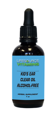 Kid's Ear Clear Oil - 1 fl. oz.