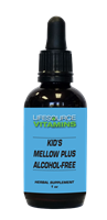 Kids & Teens Mellow Plus (Alcohol Free) Liquid Extract - 1 fl. oz.