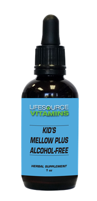 Kid's Mellow Plus (Alcohol Free) Liquid Extract - 1 fl. oz.