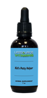 Kids & Teens Potty Helper Liquid Extract (Alcohol-Free) 1 fl. oz.