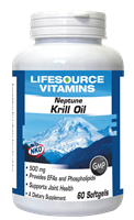 Krill Oil 500 mg - 60 Softgels