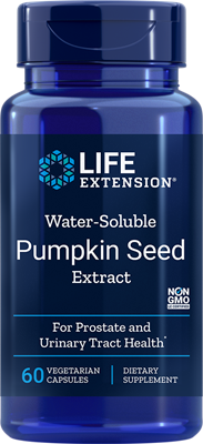Life Extension - Pumpkin Seed Extract Water-Soluble - 60 Vegetarian Capsules