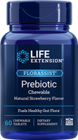 Life Extension - FLORASSIST Prebiotic Chewable- 60 Chewable Tablets