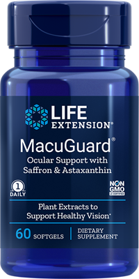 Life Extension - MacuGuard Ocular Support with Saffron & Astaxanthin - 60 Softgels