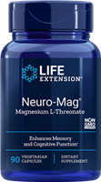 Life Extension - Neuro-Mag Magnesium L-Threonate- 90 Vegetarian Capsules