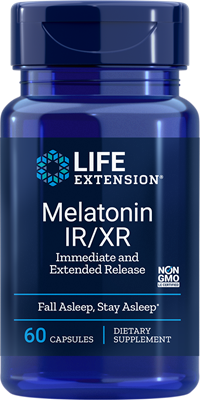 Life Extension - Melatonin IR/XR- 60 Capsules