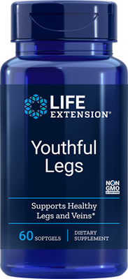 Life Extension - Youthful Legs -60 Softgels