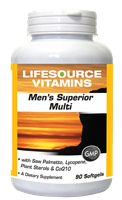 Men's Superior Multi  90 Softgels - Men Over 40 - 45 Day Supply