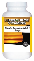 Men's Superior Multi  180 Softgels - Men Over 40 VALUE SIZE - 90 Day Supply