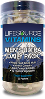Men's Ultra Daily Pack - 30 Packs (30 Day Supply) Multivitamin & Mineral