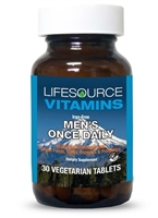 Men's Once Daily Multi - 30 Vegetarian Tablets - Whole Food Based